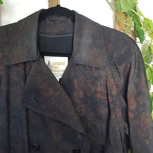 ❤ Vintage London Fog Trench Coat Zip out Liner Sz8
